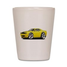 Challenger SRT8 Yellow Car Shot Glass