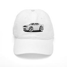 Challenger SRT8 White Car Baseball Baseball Cap