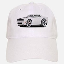 Challenger SRT8 White Car Baseball Baseball Cap