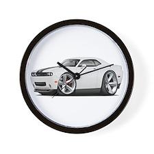 Challenger SRT8 White Car Wall Clock