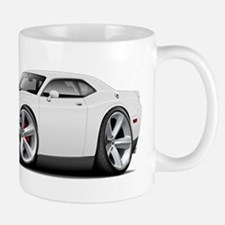 Challenger SRT8 White Car Mug