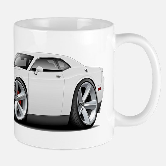 Challenger SRT8 White Car Mug