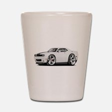 Challenger SRT8 White Car Shot Glass