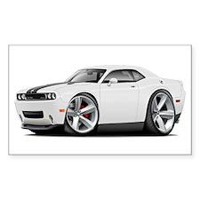 Challenger SRT8 White Car Decal