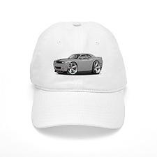 Challenger SRT8 Silver Car Baseball Cap