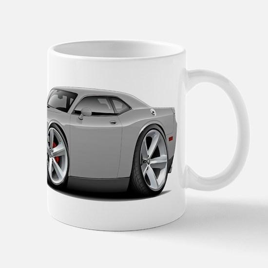 Challenger SRT8 Silver Car Mug