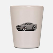 Challenger SRT8 Silver Car Shot Glass