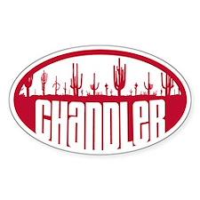 Chandler AZ Flag Decal
