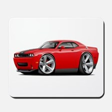 Challenger SRT8 Red Car Mousepad