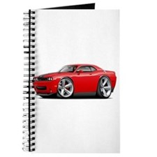 Challenger SRT8 Red Car Journal