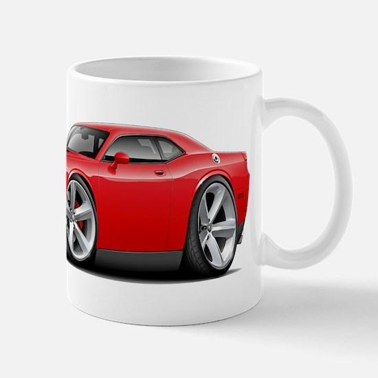 Challenger SRT8 Red Car Mug