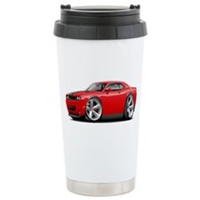 Challenger SRT8 Red Car Travel Mug