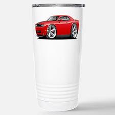 Challenger SRT8 Red Car Travel Mug