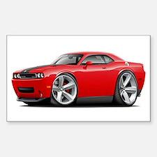 Challenger SRT8 Red Car Decal
