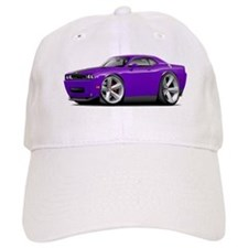 Challenger SRT8 Purple Car Baseball Cap