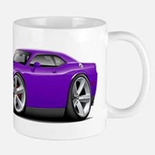 Challenger SRT8 Purple Car Mug