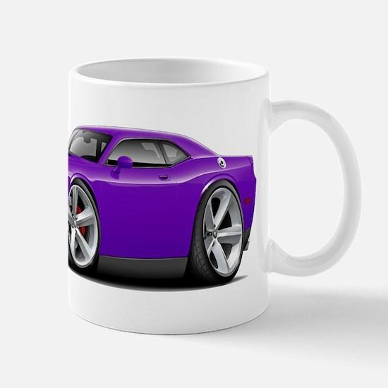 Challenger SRT8 Purple Car Mug