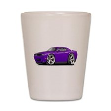 Challenger SRT8 Purple Car Shot Glass