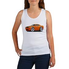 Challenger SRT8 Orange Car Women's Tank Top