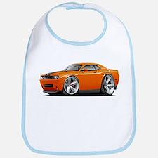 Challenger SRT8 Orange Car Bib