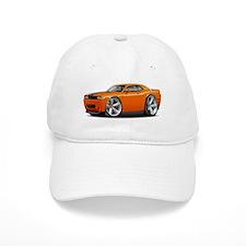 Challenger SRT8 Orange Car Baseball Baseball Cap
