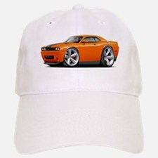 Challenger SRT8 Orange Car Baseball Baseball Cap