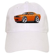 Challenger SRT8 Orange Car Baseball Cap