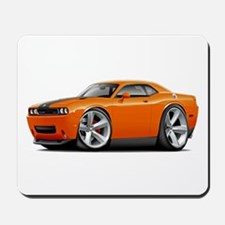Challenger SRT8 Orange Car Mousepad