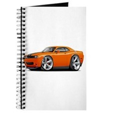 Challenger SRT8 Orange Car Journal