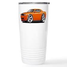 Challenger SRT8 Orange Car Travel Mug