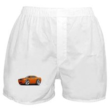 Challenger SRT8 Orange Car Boxer Shorts