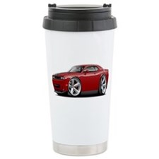 Challenger SRT8 Maroon Car Travel Mug