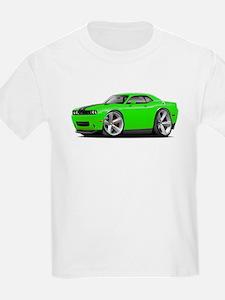Challenger SRT8 Green Car T-Shirt