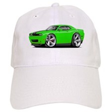 Challenger SRT8 Green Car Baseball Cap