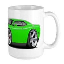 Challenger SRT8 Green Car Mug