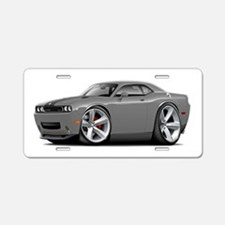 Challenger SRT8 Grey Car Aluminum License Plate