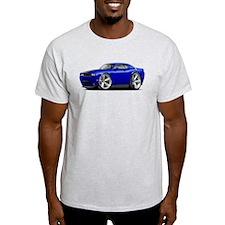 Challenger SRT8 Dk Blue Car T-Shirt