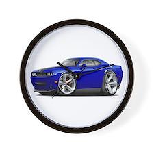 Challenger SRT8 Dk Blue Car Wall Clock