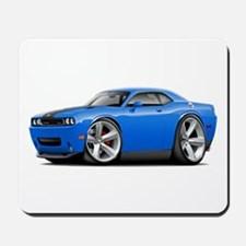 Challenger SRT8 B5 Blue Car Mousepad