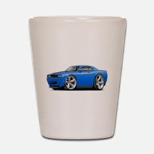 Challenger SRT8 B5 Blue Car Shot Glass