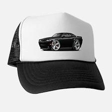 Challenger SRT8 Black Car Trucker Hat