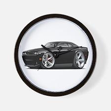 Challenger SRT8 Black Car Wall Clock