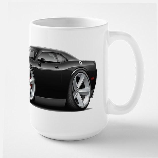 Challenger SRT8 Black Car Large Mug