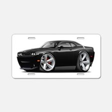 Challenger SRT8 Black Car Aluminum License Plate