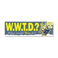 W.W.T.D.? Car Magnet