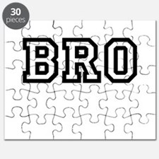 Bro College Letters Puzzle