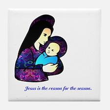 Jesus is the reason... Tile Coaster