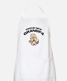 Proud New Grandpa Apron