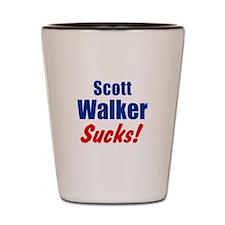 Scott Walker Sucks Shot Glass