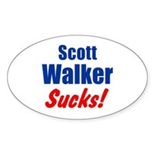 Scott Walker Sucks Decal